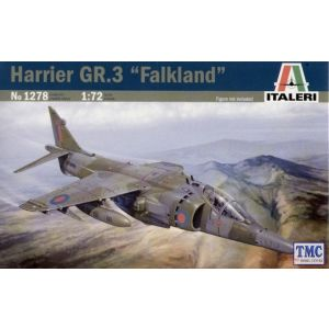 1278 Italeri 1/72 HARRIER GR.3 Model Kit - 30th ANNIVERSARY FALKLANDS WAR 1982_2012 COLLECTION