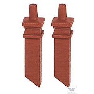 140 Ratio OO/HO Gauge Signal Box Chimney Mouldings (pair)