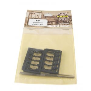 144 Ratio OO Gauge Stanchions - Double Rail
