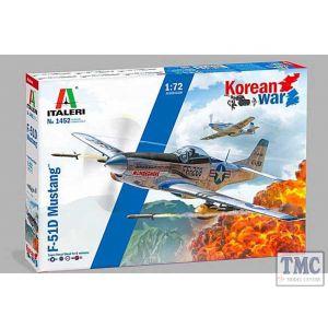 1452 Italeri 1:72 Scale F-51D Korean War