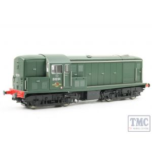 1509 Heljan OO Gauge Class 15 D8204 in plain green with numbers on front & rear