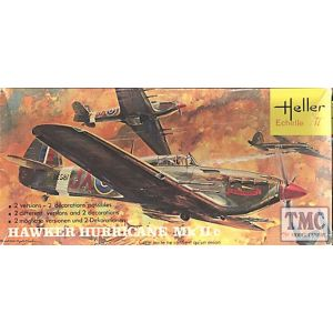 Heller Hawker Hurricane Mk II c Kit No 152 (Pre owned)