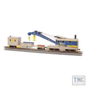 16103 Bachmann OO/HO Scale 250-Ton Steam Crane & Boom Tender - Delaware & Hudson