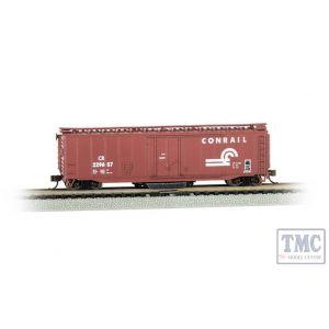 16369 Bachmann OO/HO Gauge 50' Plug-Door Track Cleaning Box Car - Conrail