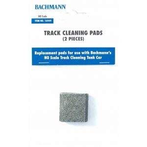 16949 Bachmann OO/HO Scale HO Track Cleaning Car Replacement Pads TMC
