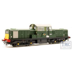 1721 Heljan OO Gauge Class 17 D8502 BR green wsyp