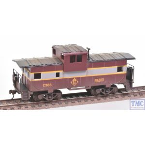 17728 Bachmann HO Gauge (US Outline) 36ft Wide Vision Caboose Erie & Lackawanna Weathered by TMC