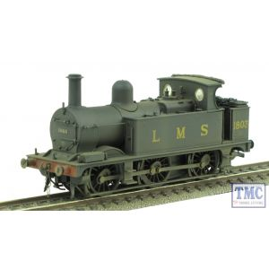 31-433 Bachmann OO/HO Midland Class 1F 1803 LMS Black Parts Fitted Real Coal Shed 18D Renumbered & Weathered by TMC