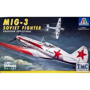 180 Italeri 1:72 MiG-3 Model Kit (Pre owned)
