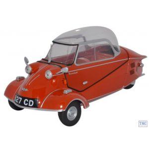 18MBC001 Oxford Diecast 1:18 Scale Messerschmitt KR200 Bubble Car Rouge Sarde Messerschmitt Bubble Car