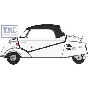 18MBC005 Oxford Diecast 1:18 Scale Messerschmitt KR200 Polar White