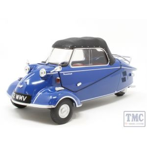 18MBC006 Oxford Diecast 1:18 Scale Messerschmitt KR200 Convertible Royal Blue