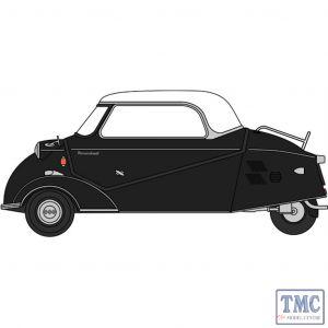 18MBC007 Oxford Diecast  Messerschmitt KR200 Bubble Top Black