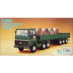 ScanKit Ford Transcontinental Trailer Truck No 2003 (Pre owned)