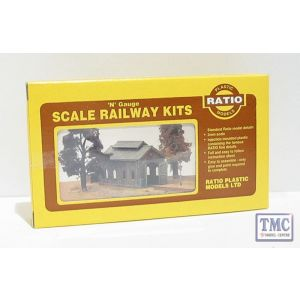 203 Ratio Engine Shed N Gauge Plastic Kit