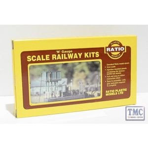 206 Ratio Locomotion Serving Depot N Gauge Plastic Kit