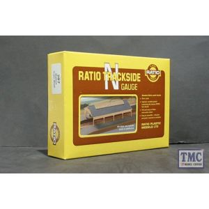 207 Ratio GWR Station Train Shed N Gauge Plastic Kit