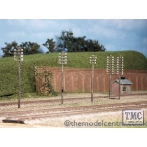 211 Ratio Telegraph Poles (10 per pack) N Gauge Plastic Kit