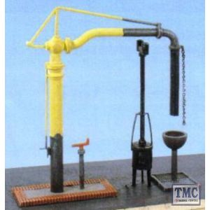 212 Ratio Water Crane & Fire Devil N Gauge Plastic Kit