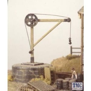 214 Ratio Yard Crane N Gauge Plastic Kit