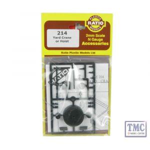 214 Ratio Yard Crane N Gauge Plastic Kit