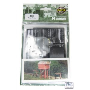 215 Ratio Suare Water Tower N Gauge Plastic Kit