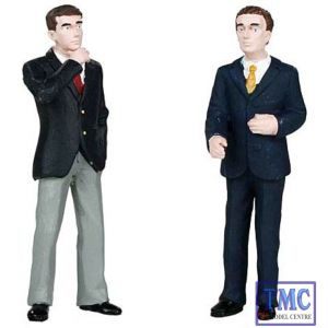 22-141 Scenecraft G Scale Businessmen