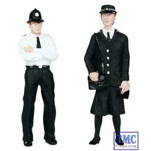 22-143 Scenecraft G Scale Police & Security Staff