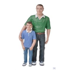 22-179 Scencraft G Scale Lineside Models Father and Son