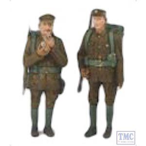 22-182 Scenecraft G Scale Lineside Models Embarking Soldiers