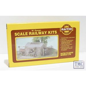 220 Ratio Stone Goods shed N Gauge Plastic Kit