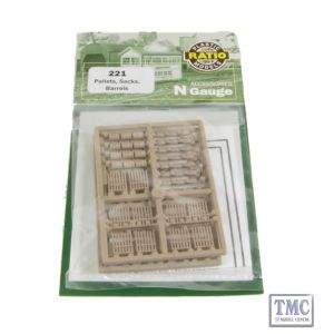 221 Ratio Pallets Sacks Barrels N Gauge Plastic Kit