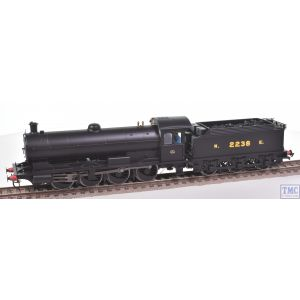Hornby OO Gauge 0-8-0 Class Q6 Loco no.2238 100th Anniversary NE Black with Crew Real Coal & Detailing by TMC