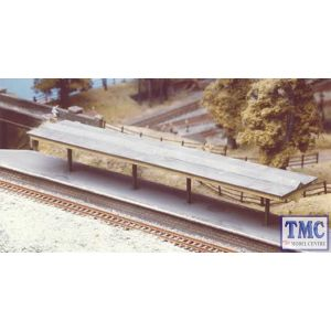 225 Ratio Flat Roof Platform Canopy With Valencing N Gauge Plastic Kit
