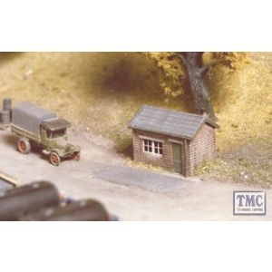 227 Ratio Weighbridge hut N Gauge Plastic Kit