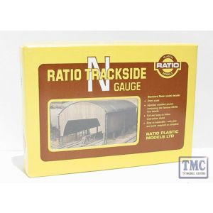 231 Ratio Carriage Shed N Gauge Plastic Kit