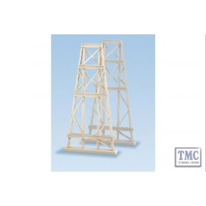 242 Ratio 2 Steel Trestles N Gauge Plastic Kit