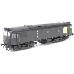 2531 Heljan OO Gauge Class 25/3 BR two-tone green D5244 with small yellow panels - Factory Weathered