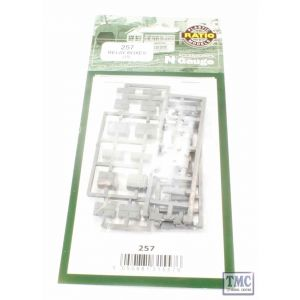 257 Ratio Relay Boxes N Gauge Plastic Kit