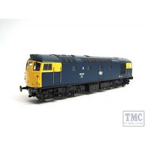 2614 Heljan OO Gauge Class 26/1 26026 BR blue with full yellow ends