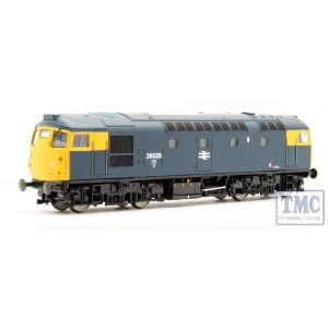 2638 Heljan OO Gauge Class 26/1 26028 BR blue with full yellow ends