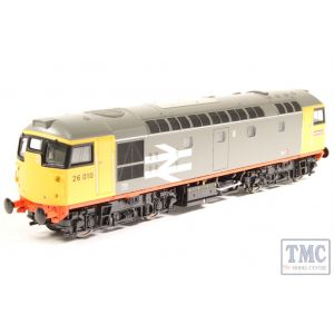 2656 Heljan OO Gauge Class 26/0 26010 Railfreight red-stripe