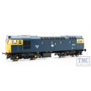 2711 Heljan OO Gauge Class 27 5373 in blue with full yellow ends (no boiler tanks)