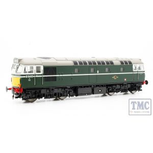 2712 Heljan OO Gauge Class 27 D5404 in green with small yellow panels