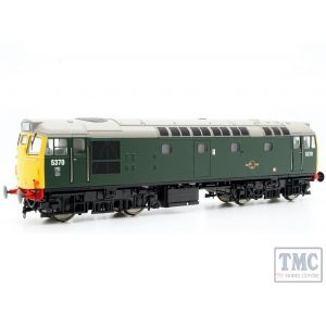 2713 Heljan OO Gauge Class 27 5370 in green with full yellow ends (no boiler tanks)