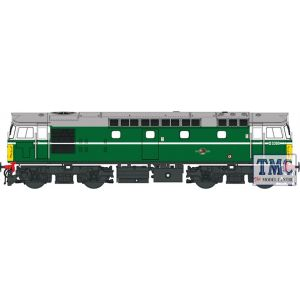 2731 Heljan OO Gauge Class 27 D5369 BR green with small yellow panels (V3)