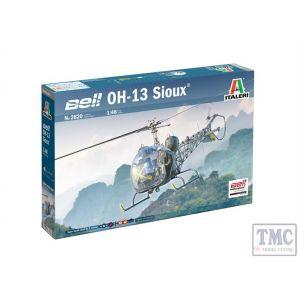 2820 Italeri 1:48 Scale OH-13 Sioux Korean War