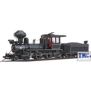 28326 Spectrum (by Bachmann) On30 Modern 4-4-0 American Outside Frame Steam Loco (DCC fitted)(Unlettered)