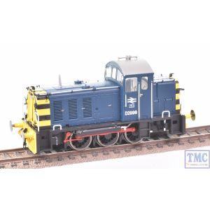 2907 Heljan OO Gauge Class 07 V1 as-built BR blue D2998