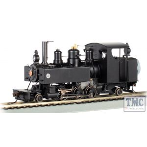 29505 Bachmann On30 Scale Painted, Unlettered - Black 2-6-2T Baldwin Class 10 Trench Engine DCC Sound Fitted